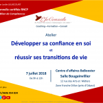 Atelier transition de vie