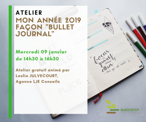 Image atelier Bullet Journal